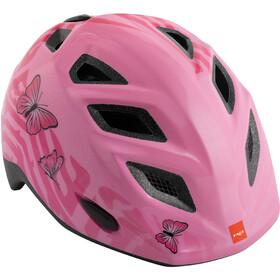 MET Elfo Helm Kinder pink butterflies